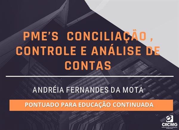 [PME'S  Conciliação , Controle e Análise de contas]