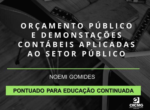[Orçamento Público e Demonstrações Contábeis Aplicadas ao Setor Público]