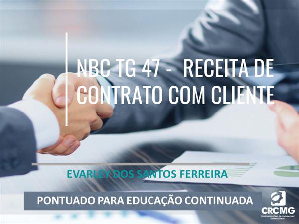 [NBC TG 47 – Receita de Contrato com o Cliente]